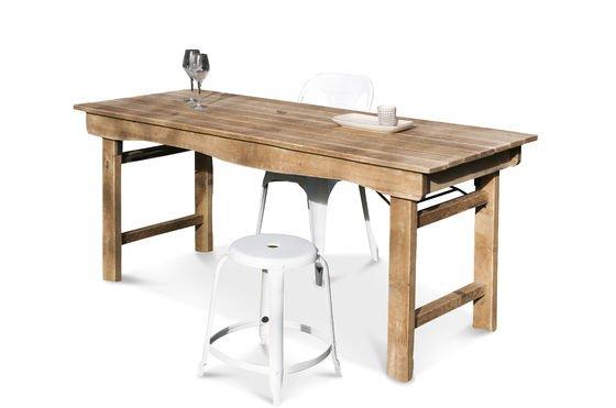Mesa de madera Elise Clipped