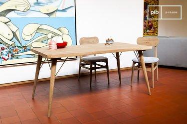 Mesa de madera Jotün