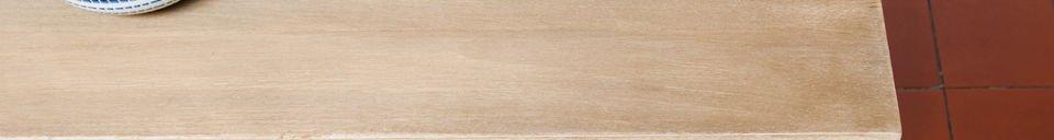 Descriptivo Materiales  Mesa de madera Jotün