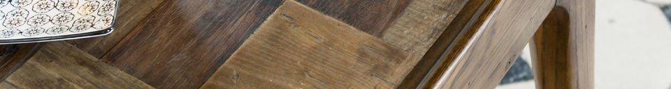 Descriptivo Materiales  Mesa de madera Tabüto