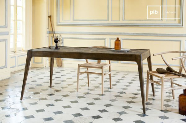 Mesa de madera Tabuto