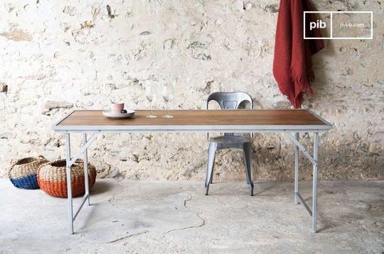 Mesa de teca Bollène