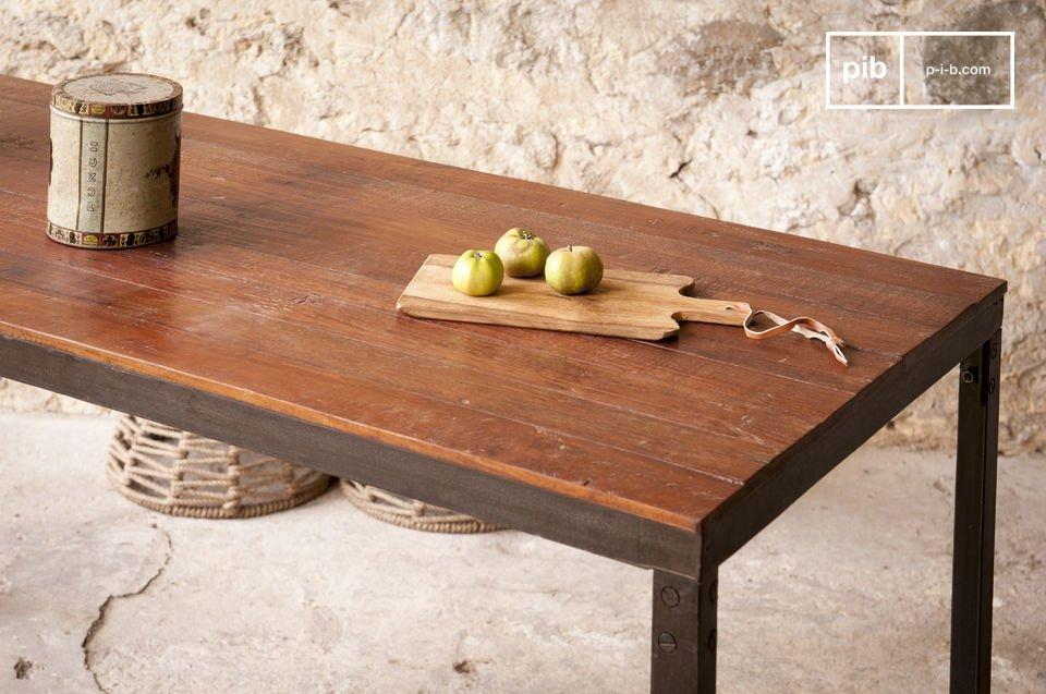 La solidez del mobiliario industrial con excelentes acabados