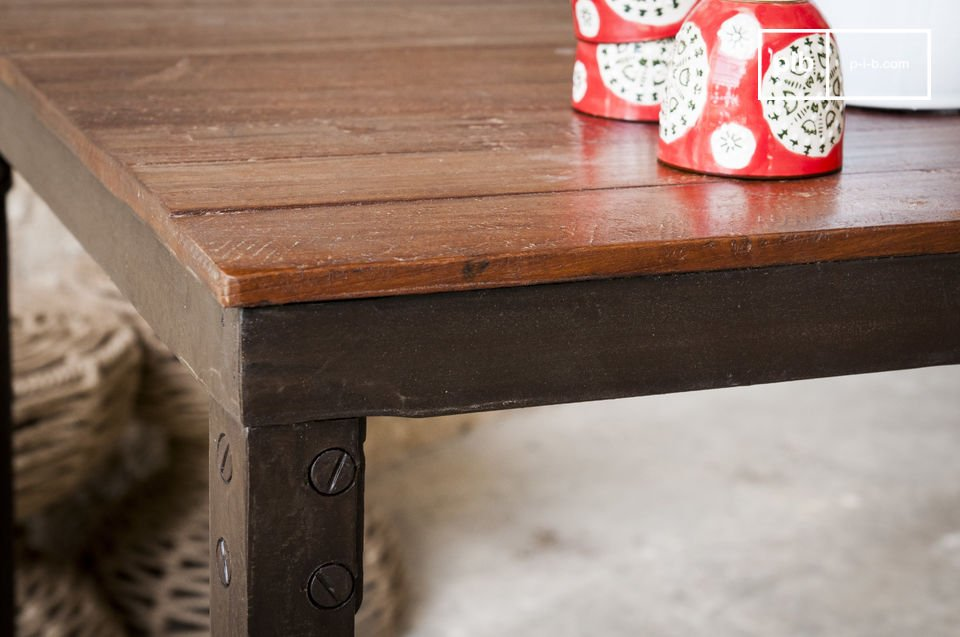 La mesa Masaï es un mueble