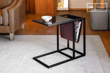 Mesa para revistas en mármol Noora