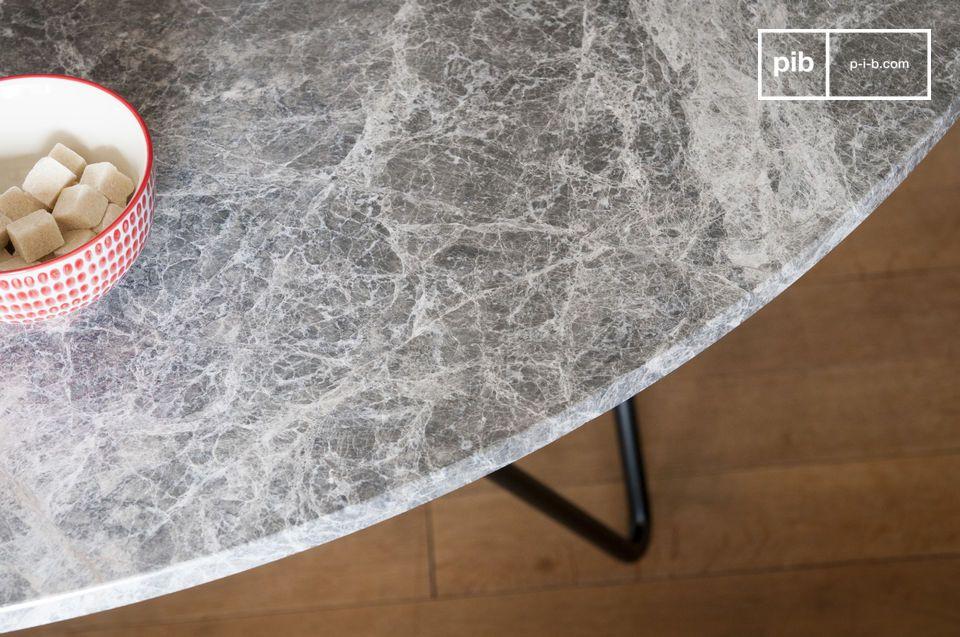 La mesa de mármol Grimaud