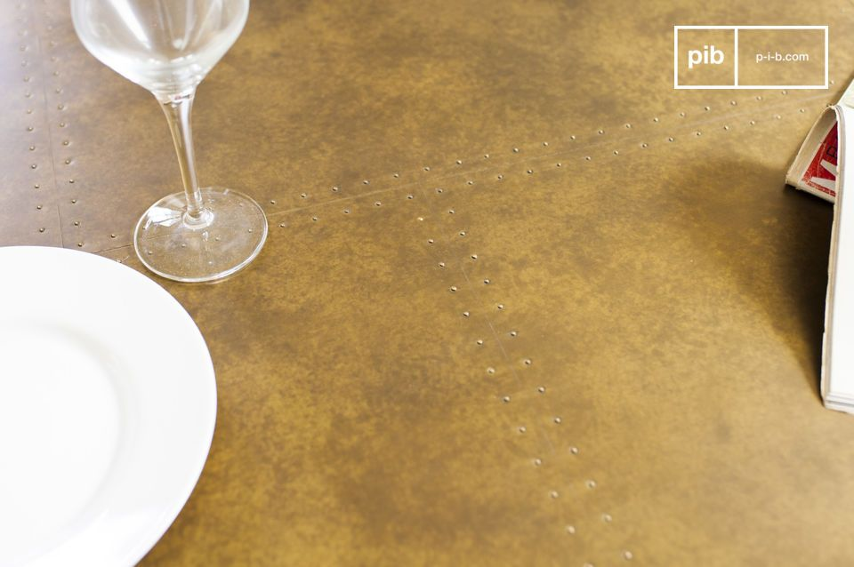Es una mesa única que destacará en cualquier salón