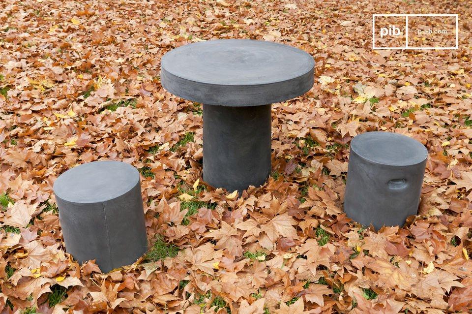 Aspecto de concreto sólido para uso en interiores o al aire libre