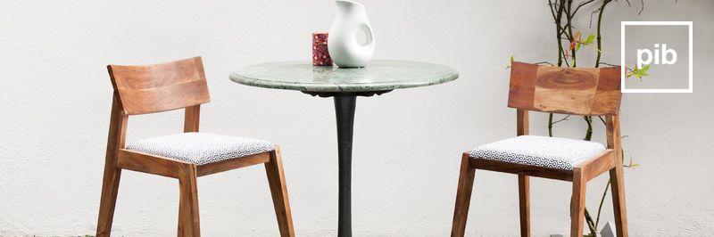 Mesas de comedor modernas escandinavas pronto de nuevo en la colección