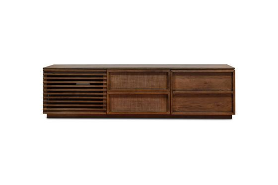 Mueble audiovisual de madera Jake Clipped