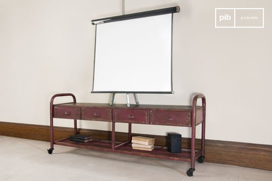 Mueble de TV Industrial Patinado
