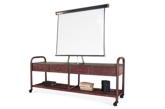 Mueble de TV Industrial Patinado Clipped