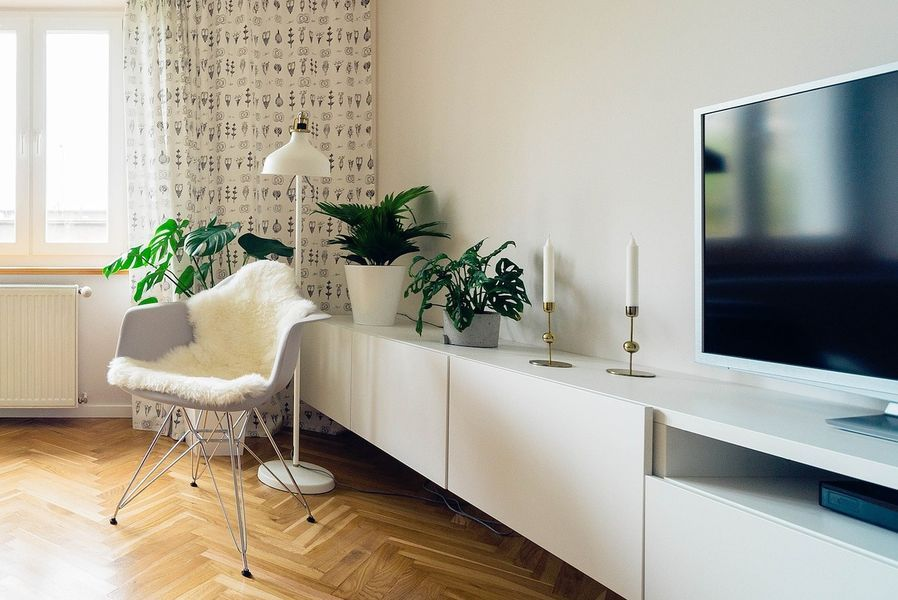 Mueble para Tv blanco moderno