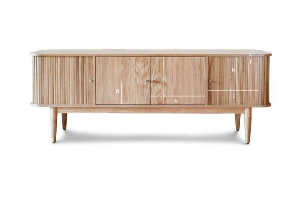 Dimensiones del producto Mueble TV Cortinas Ritz