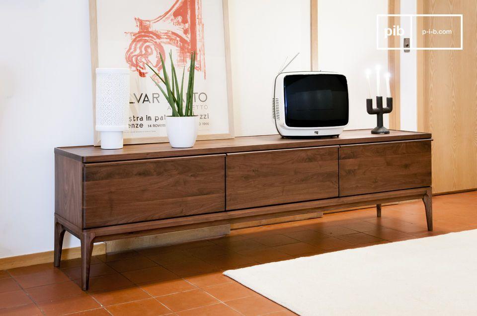 Gran formato, practicidad y elegancia de una madera noble