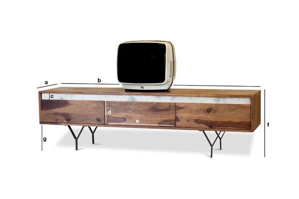 Dimensiones del producto Mueble TV Mabillon