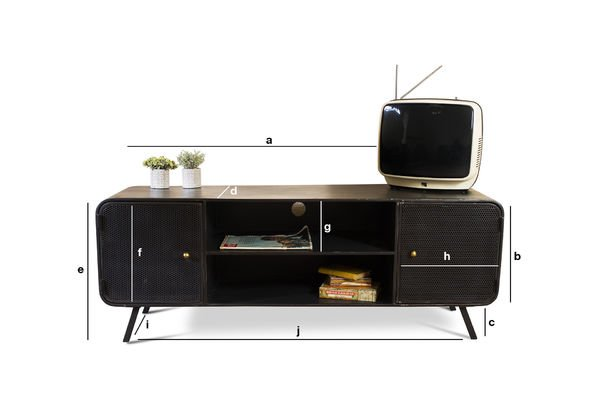 Dimensiones del producto Mueble TV Minoterie