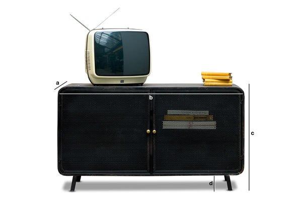 Dimensiones del producto Mueble TV Molino
