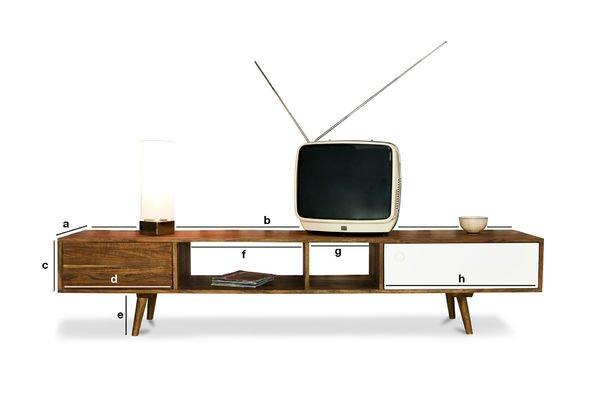 Dimensiones del producto Mueble TV Stockholm