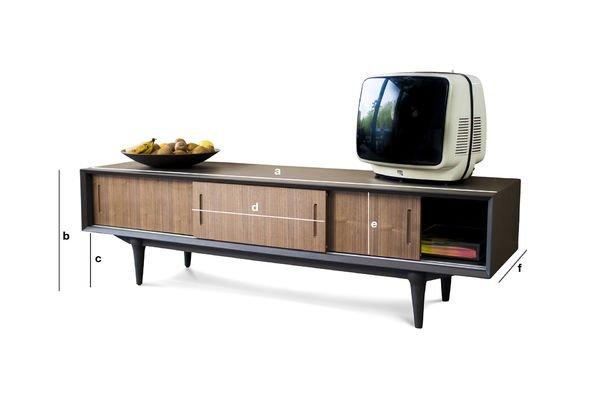 Dimensiones del producto Mueble TV Tumma Fjord