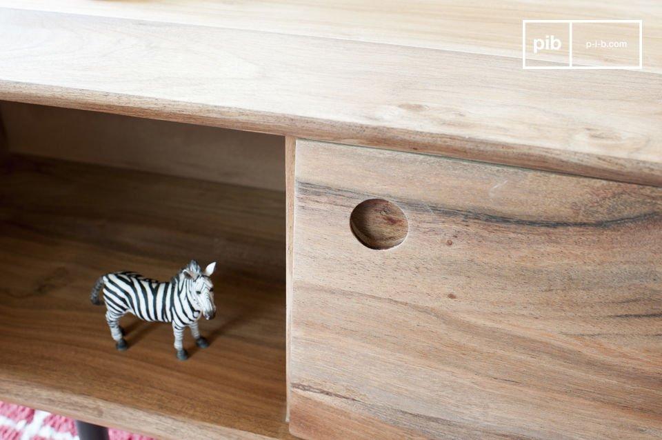 El resultado es una combinación fácil con muebles de estilo contemporáneo o vintage