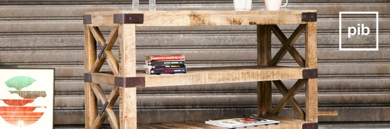 Muebles auxiliares de cocina de madera