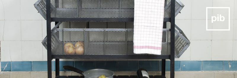 Muebles auxiliares de cocina shabby chic