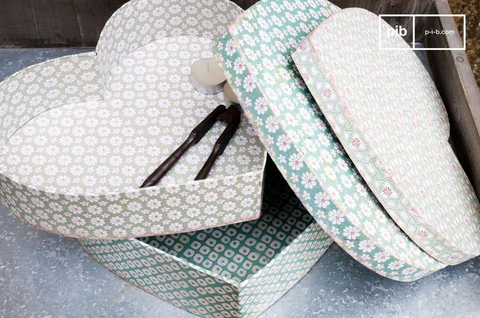 Traiga la frescura de la primavera en su hogar con estas alegres cajas de cartón de colores