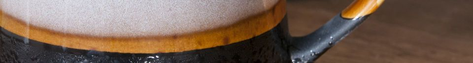 Descriptivo Materiales  Par de Tazas grandes Ceramix