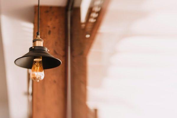 Pequeña lámpara colgante
