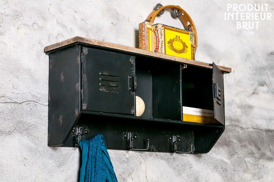 Un accesorio con diseño industrial para su interior