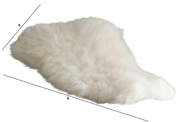 Dimensiones del producto Piel de oveja Islandia