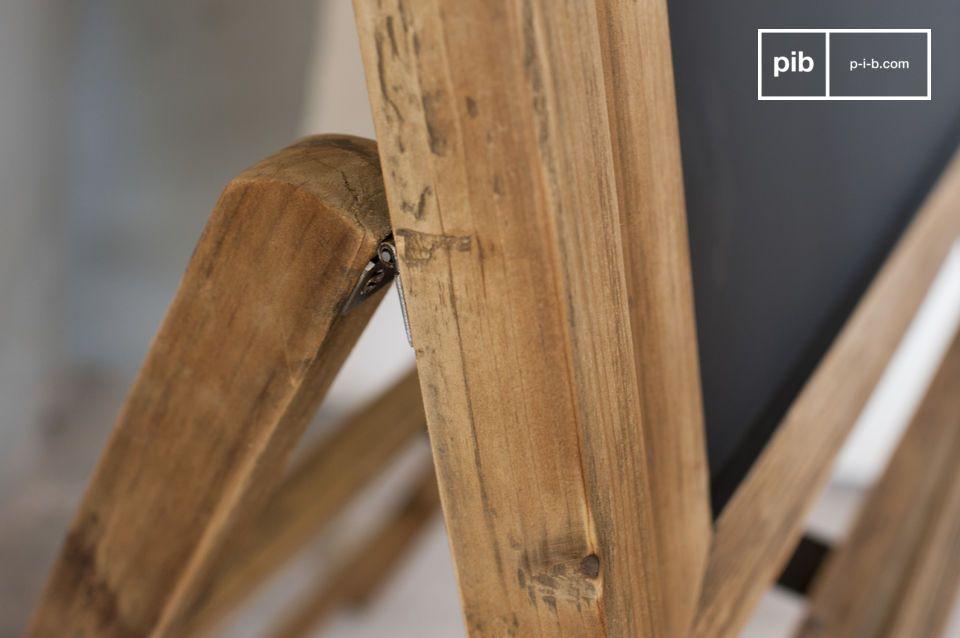 Hecha enteramente de madera