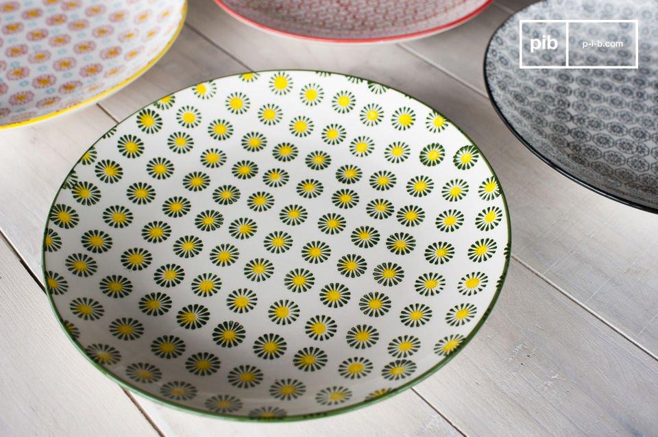 Los platos redondos Julia darán un encanto retro a sus interiores y para su mesa de comedor