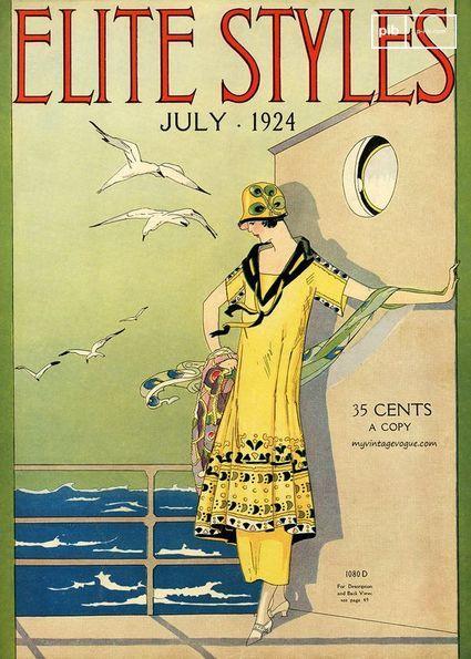 Portada de una revista de los años 20