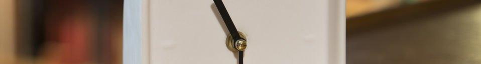 Descriptivo Materiales  Reloj de porcelana Fjorden