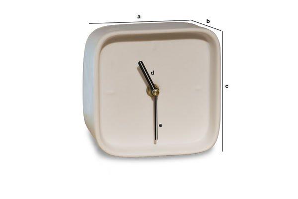 Dimensiones del producto Reloj de porcelana Fjorden