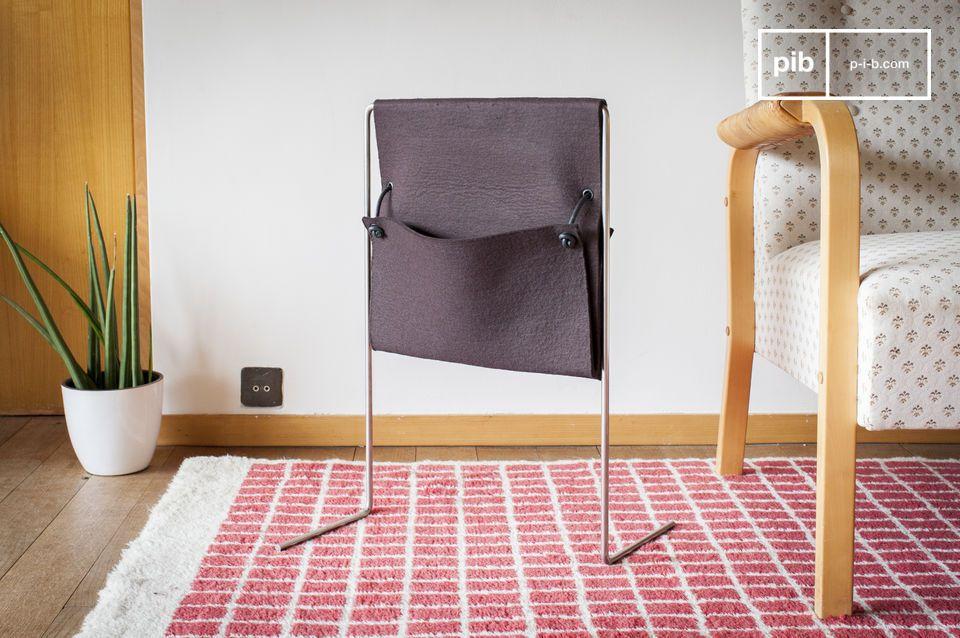Este porta revistas es el objeto perfecto para decorar su salón o su sala de estar con un