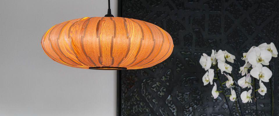 una amplia selección de originales lámparas
