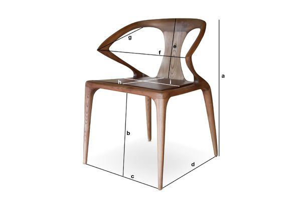 Dimensiones del producto Silla Bentwood Kirsten