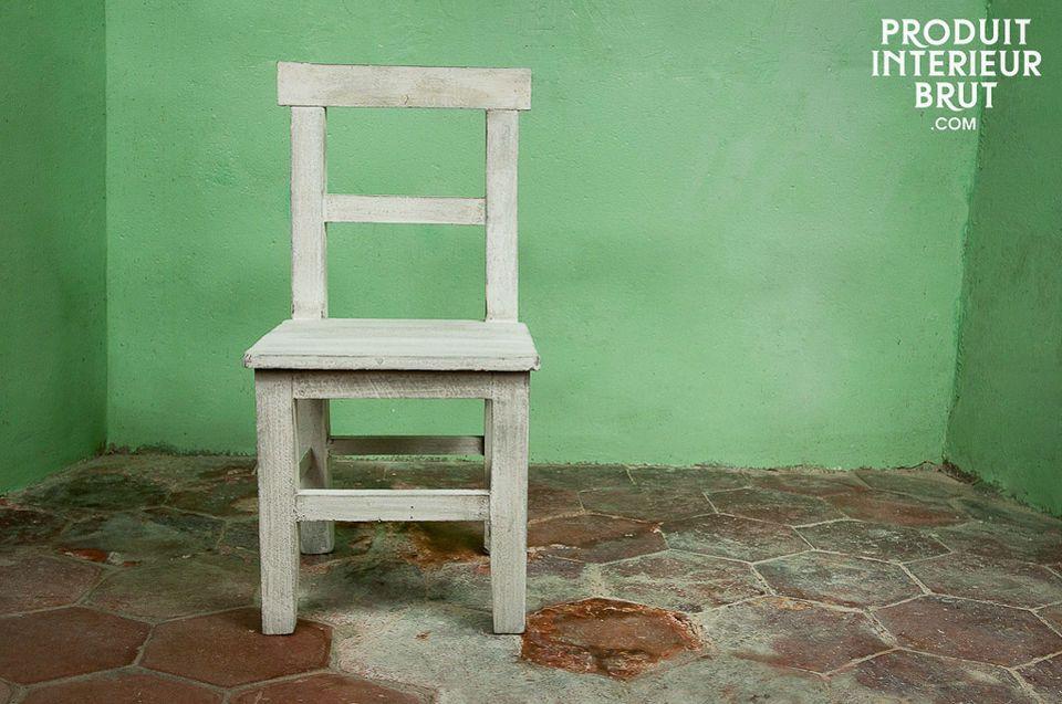 Hermosa silla pintada