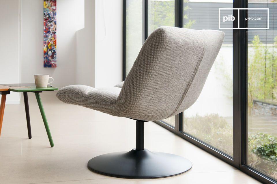 La silla ofrece un nivel de confort