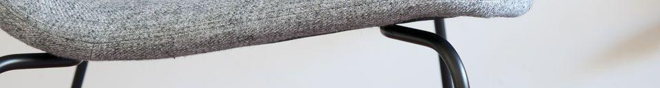 Descriptivo Materiales  Silla de tela Houston