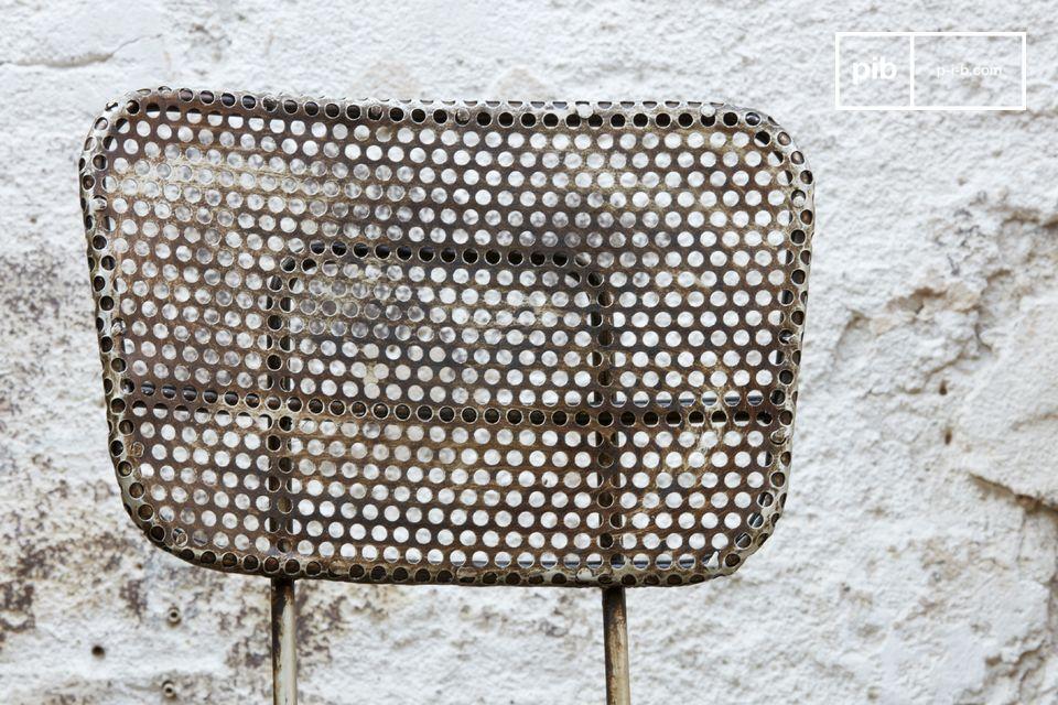 Esta silla industrial tiene todo el estilo vintage