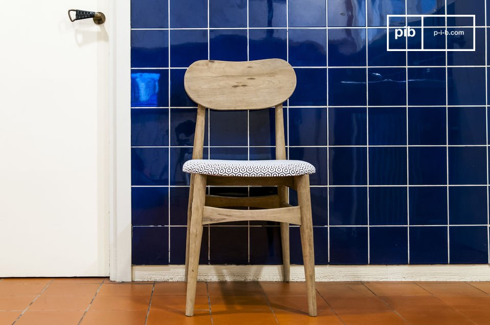 Encanto de una silla vintage