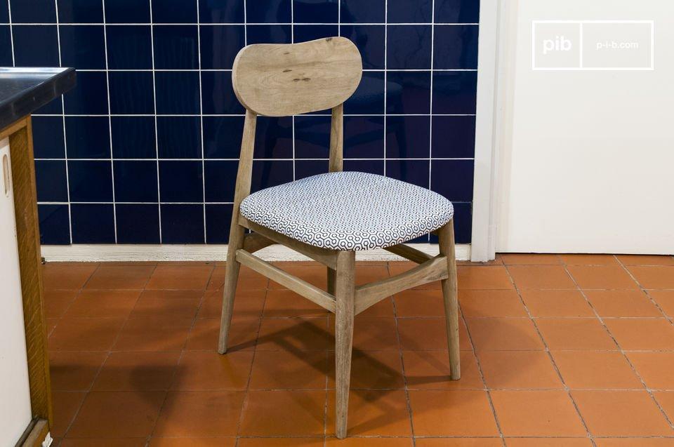 La silla de Jotun es fácil de combinar con sus muebles