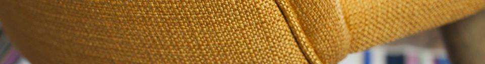 Descriptivo Materiales  Silla Lear mostaza