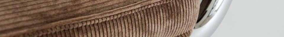 Descriptivo Materiales  Silla marron Krömart