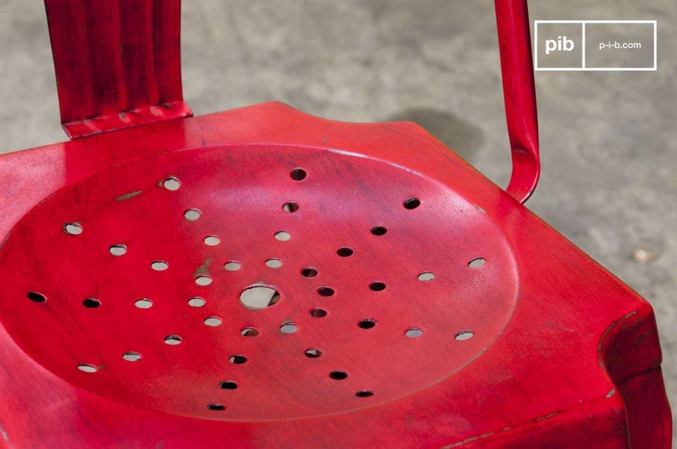 Acabados patinados rojos