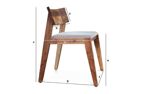 Dimensiones del producto Silla Stockholm